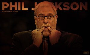 Phil Jackson by RafaelVicenteDesigns