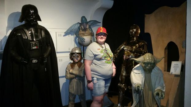Me and the Star Wars Characters 1 by sonichannah