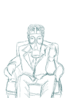 Gas Mask Man WIP by PhoenixalThor