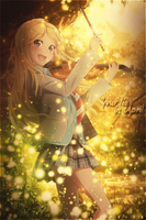 Your lie in April by PriyoNewvKy