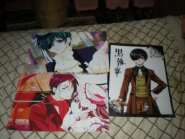 Black Butler Posters for Sale/Trade Round 2 by HinataFox790
