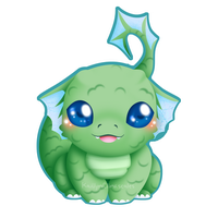 Baby Dragon by Clinkorz
