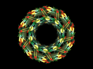 Xmas Wreath by CriogenReptyle