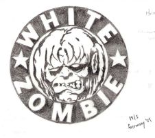 White Zombie Logo by Autopsyh
