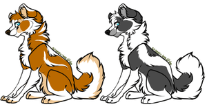 Dogs Adoptables :OPEN: by Okami-Heart