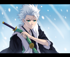Captain Hitsugaya by KhalilXPirates