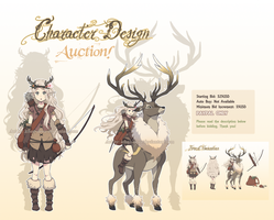 Character Design Auction [CLOSED] by ichan-desu