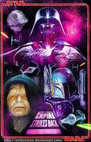 The Empire Strikes Back Darth Vader and friends. by notjustone