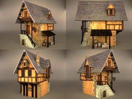medieval house 5 by binouse49