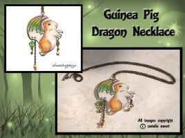 SOLD GunieaPig Dragon Necklace by natamon