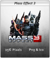 Mass Effect 3 - Icon 5 by Crussong