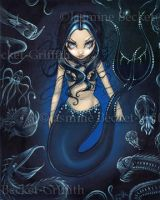Mermaid of the Deep by jasminetoad