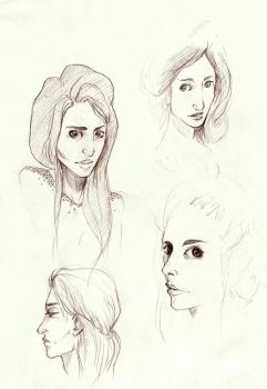 sketches by himynameisfo