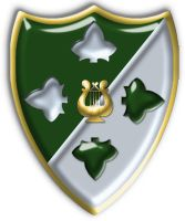 Ivy Division Band Crest Shield by Kaibu