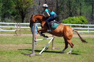 Breezy and I JUMPING by TeamVolturiLeader