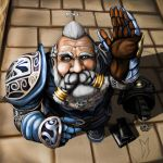 Lineage 2, my old memory dwarf by Moldavius90