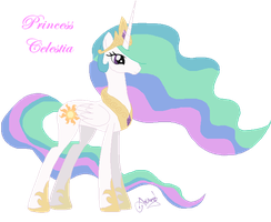 Princess Celestia by Ameyal