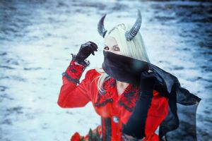 Snow Devil by Elena-NeriumOleander