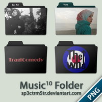 Music Folder 10 PNG by sp3ctrm5tr