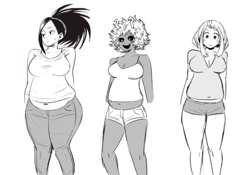 My Hero Weight Gain by bellywg