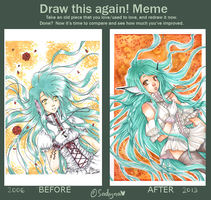 Meme  Before And After by Sadyna