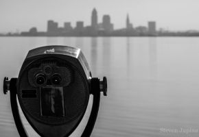 Blurred Skyline View by CLEthroughMYeyes