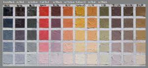 Limited Palette Color chart by briannatron87