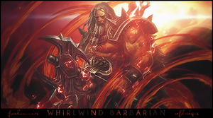 Whirlwind Barbarian by rafdesigns