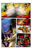 pages by  ultimate comics  3 by joseisai
