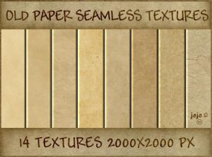 Old paper seamless textures by jojo-ojoj