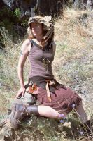 Steampunk Scavenger - Full View 2 by lupagreenwolf