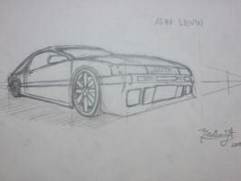 perspective experiment 2 ae86 by ryuzo13