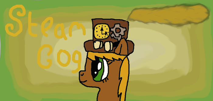 Steam Cog =My pony OC= by SteamCog101