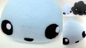 Rain Drop Plushie by Lyseebell