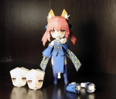 Caster (Fate/Extra) Prototype Papercraft by einohpmys