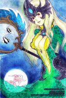 LoL - Nami, the Tidecaller by Litchling