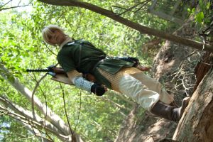 Link in Faron Woods by Anduriill