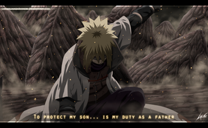 Minato Edo Tensei - To protect my son by LiderAlianzaShinobi