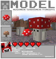Minecraft - Mushmen by Dragonith