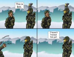 Master Chief's Pet 4 by Swashbookler