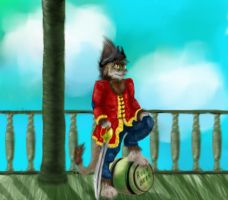 Captain Ogrin by AtomicNeurosis