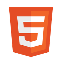 PSD of HTML5 Logo by tobrother