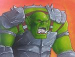 A Very Orcish Sketch by RRJones