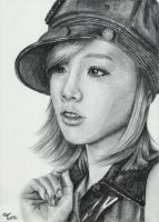 Girls' Generation Taeyeon by taratjah