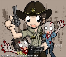 Rick - The Walking Dead by amy-art