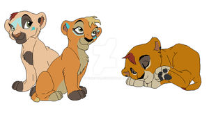 Cubs for Soufroma by petshop101