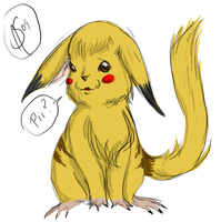Realistic-style Pikachu by XantheStar
