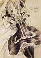 Anime girl 9 by Fahad-Naeem