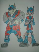 S.W.A.T. Kats by Zigwolf