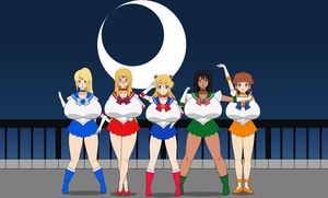 Inner Sailor Senshi Cosplay feat. Elizuke by Elizuke94